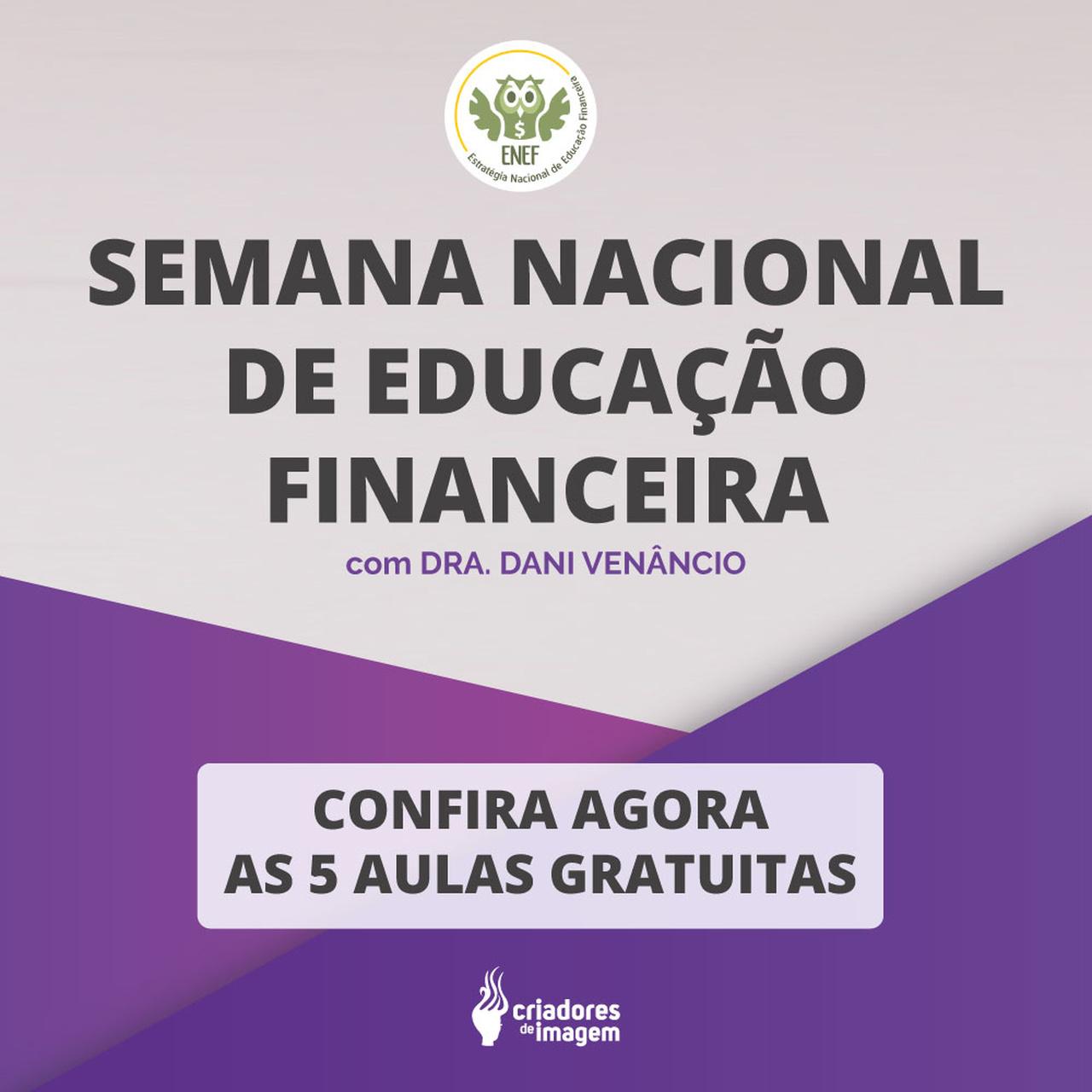 semana nacional da gestao financeira, educação financeira, finanças, salão de beleza, aulas de finanças, Dani Venencio