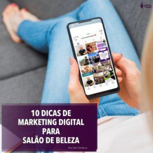 10 dicas de marketing digital para salao de beleza profissionais da beleza divulgação internet